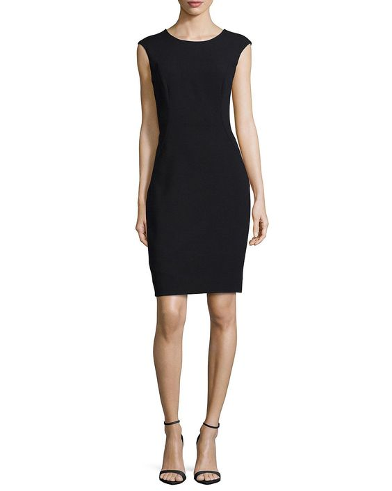 Modern Midi Sheath Dress