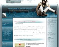 Heavenly Blue WordPress Theme