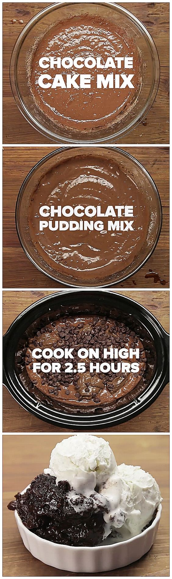 Chocolate Lava Cake/ I like the comment about using fudge icing dropped by large spoonsful instead of the pudding.: