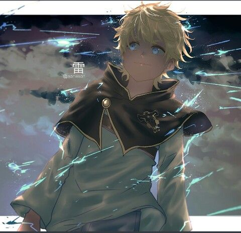 Luck Voltia Black Clover Anime Anime Characters Cool Anime Wallpapers