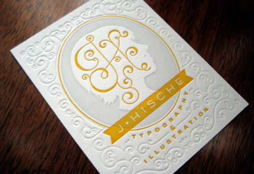 Pretty Bad @$$ - Jessica Hische business cards