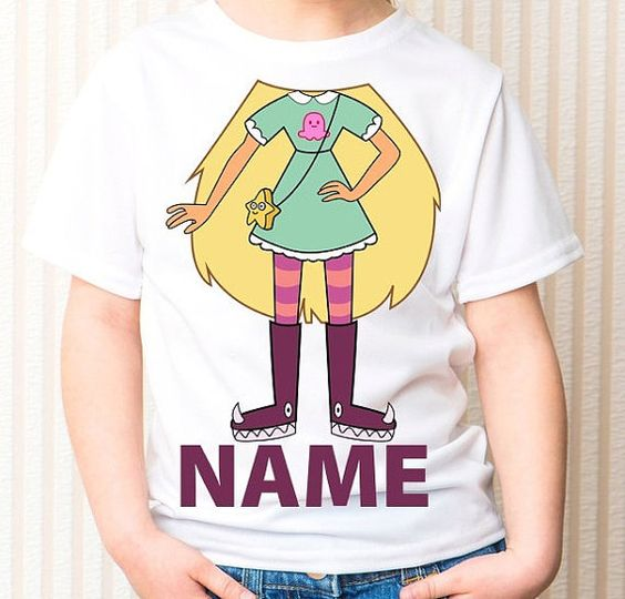 ✓ Star vs. the Forces of Evil Inspired Custom Shirt - $20: