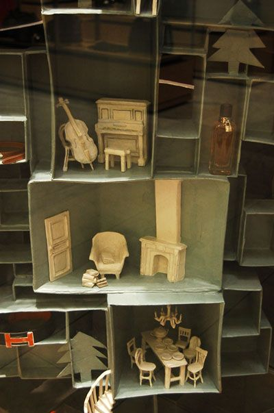 Furniture the doors and dollhouse furniture on pinterest for Paper mache furniture ideas