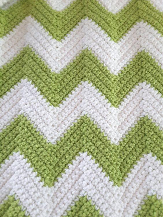 Crochet bébé couverture couverture de par KarensComfyCreations