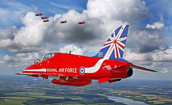 The Red Arrows are 50! Happy Birthday!