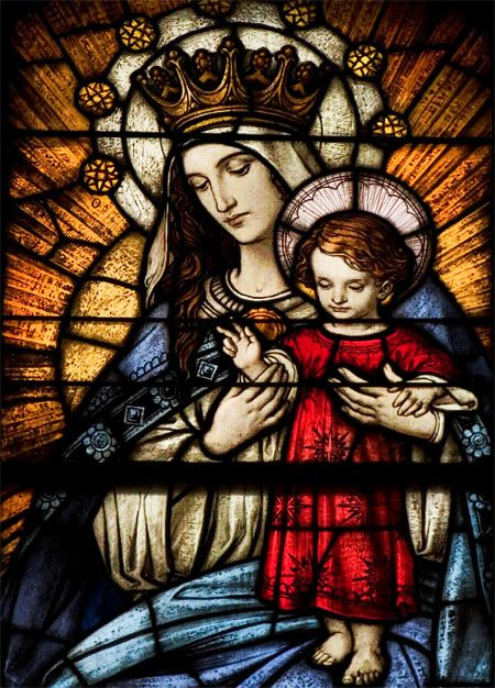 Blessed Mother and Virgin most holy