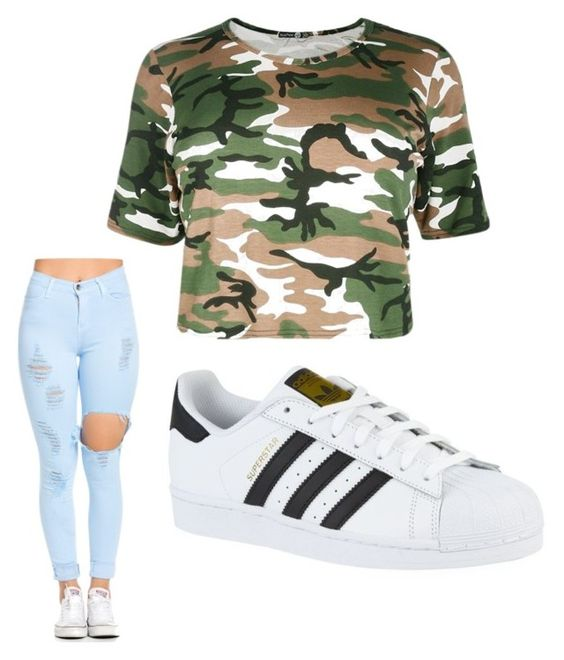"""""""Untitled #183"""" by journeycarothers on Polyvore featuring adidas"""
