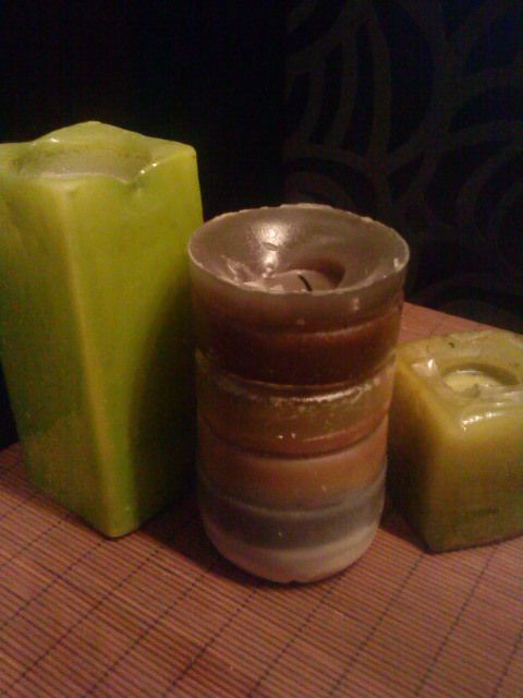 Reuse Candle Scraps. So neat!