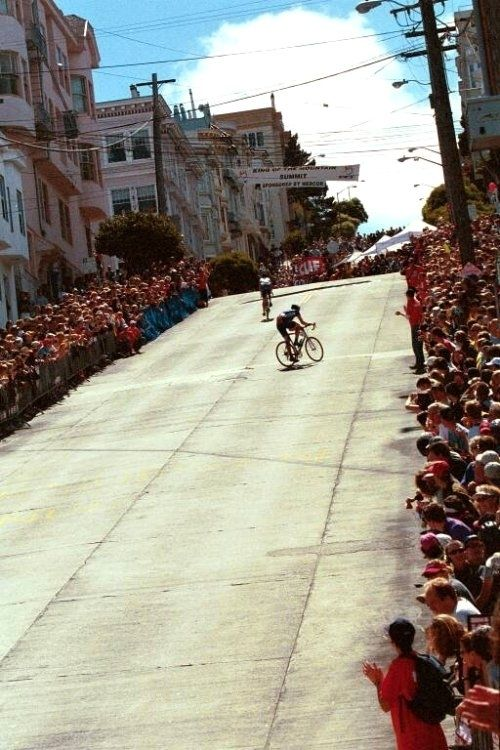To say the San Francisco Grand Prix was hard was a definite understatement.  Pros zig-zagging up the climbs just to try and finish...