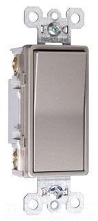P&S TM874-NICC6 : 4WAY DECORATOR SWITCH 15A 120/277V NICKEL | Gordon Electric Supply, Inc.