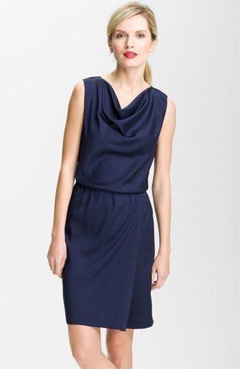 Valette Drape Neck Twill Dress | Nordstrom $117.90 (free shipping)