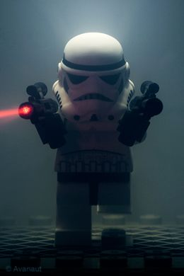 Star Wars, Lego's and Photography - Stormtrooper