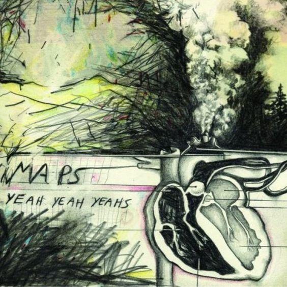 Yeah Yeah Yeahs – Maps (single cover art)