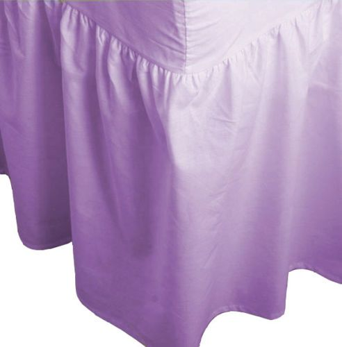 Quality-Fitted-Valance-Sheets-Bed-skirts-Frill-sheets-All-Sizes-68PICK-BRANDED