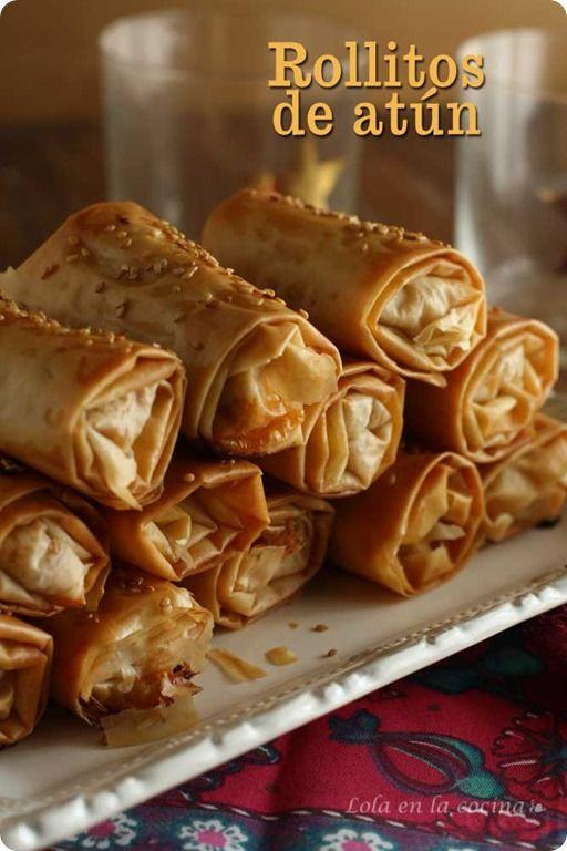 rollitos-de-atún receta de navidad