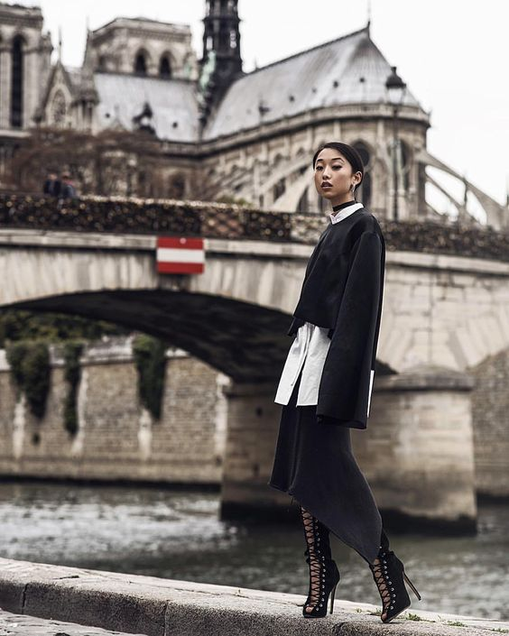 Zhang-ing in Paris