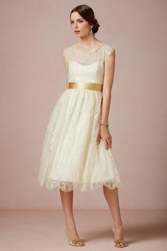 BHLDN Queen Anne Dress