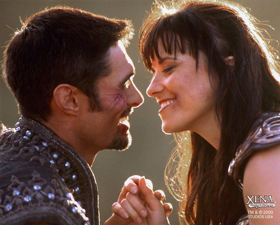 So sweet!  <3  Xena/Ares, Xeres