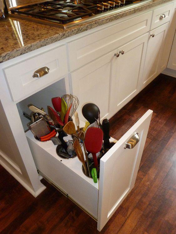 organizadores cocina | Diseños de cocinas | Pinterest
