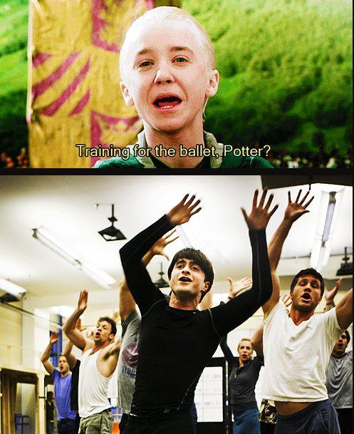 No, Malfoy. Broadway.