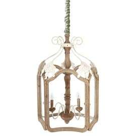Barchester Wooden Lantern, Large