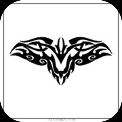 Dessin Tatouage Tribal Chauve Souris Dt2t112