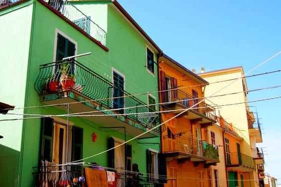 Riomaggiore - Cinque Terre, Italia (by Camille WEBER)