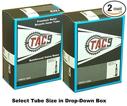 2-PACK 700x28-35 Gravel Bike Inner Tube PRESTA Valve Length 32mm 48mm or 60mm