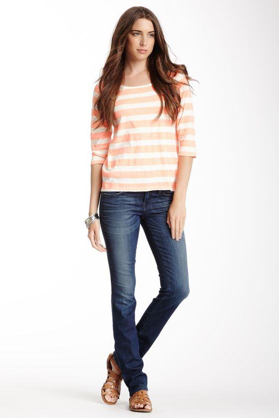 Lily Skinny Straight Leg Jean