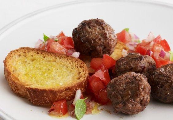 Cooking with Joy - Cocktail Meatballs/Meatball Bruschetta