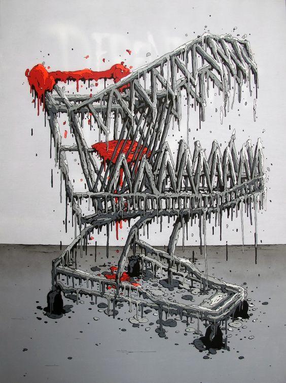 Arte sobre consumismo e globalização 6: