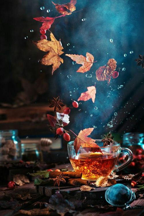 sh-inaam:  Briar tea with autumn swirlby Dina Belenko