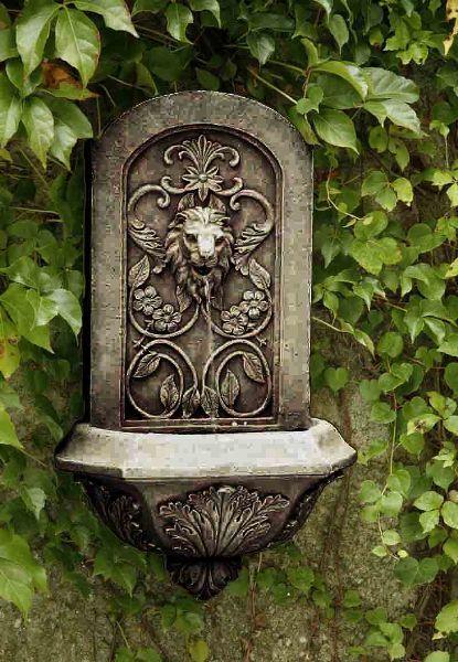 Garden Wall Fountains Great for the Garden