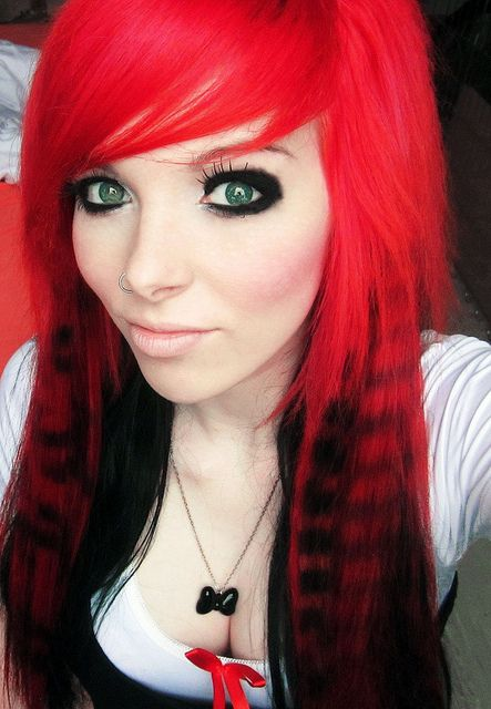 Super Emo Scene Hairstyles For Girls And Its Beautiful On Pinterest Short Hairstyles For Black Women Fulllsitofus