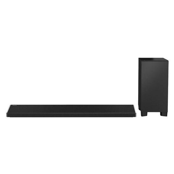 Panasonic SC-ALL70T: Toller Fernseher, zahlreiche Features und geniales Bild - Aktuelle Full-HD-Fernseher und 4K-TVs liefern Bilder vom Feinsten und bestechen durch Online-Anbindung und viele weitere Funktionen.  Am Klang hapert es dann meist jedoch schnell. Wenn du ein überzeugendes Heimkino wünscht, solltest du nicht am Sound sparen. 🎶  Der Soundriegel von Panasonic samt Subwoofer und Fernbedienung zum Preis von 399 Euro kann hier eine sehr sinnvolle Ergänzung sein. ;-)
