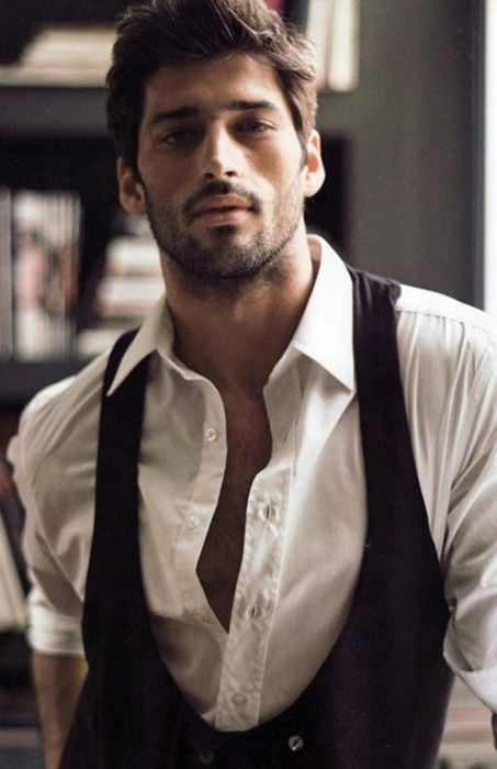 image of Groom  Clothing Ideas ? Dark Haired Bearded Handsome Men Wedding OMGs | handsome guys picture handsome men images