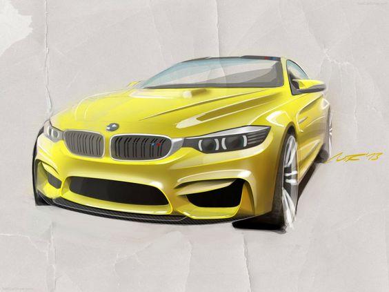 BMW M4 Coupe Concept 2013