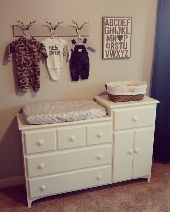 Baby boy nursery - rustic/hunting theme