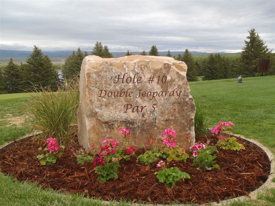Landscaping Rocks Names : Want this rock with a welcome message our last name and house