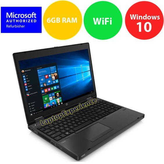 "HP ProBook 6565B LAPTOP COMPUTER QUAD CORE 1.6GHz 6GB RAM 15.6"" Windows 10 KEY https://t.co/uMgT4Njqiq https://t.co/o11SxxOray"