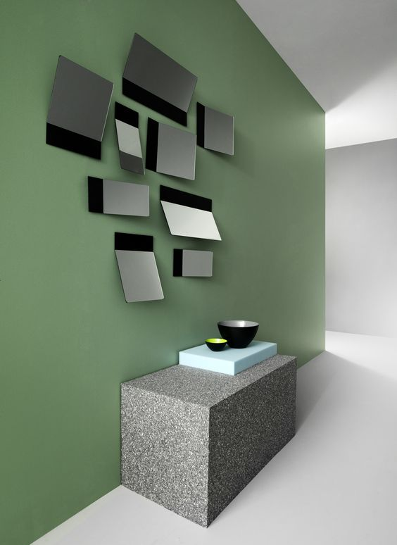 Decorate with mirrors and make a room seem larger. Get more inspiration at Normann Copenhagen