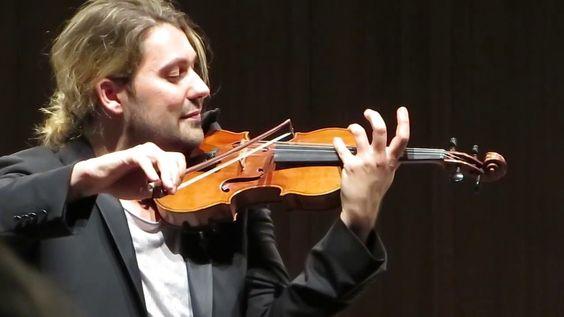 David Garrett - Tschaikowsky Violinkonzert 2. Satz - Interlaken 18.04.2016