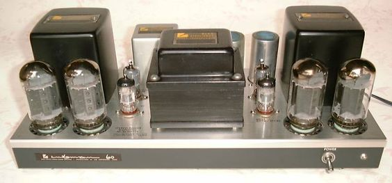 Luxman MQ60 (1969) 2 x 30 watts.