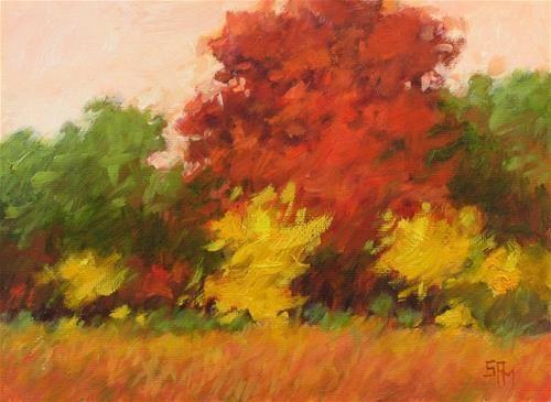 "Daily Paintworks - ""Middlefork #4"" - Original Fine Art for Sale - © Suzanne Poursine-Massion"