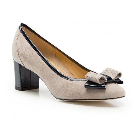 Czolenka Damskie Ze Skory Zamszowej Wittchen 86 D 114 Elegant Shoes Shoes Evening Shoes