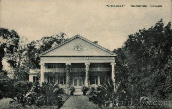 Greenwood Thomasville Georgia