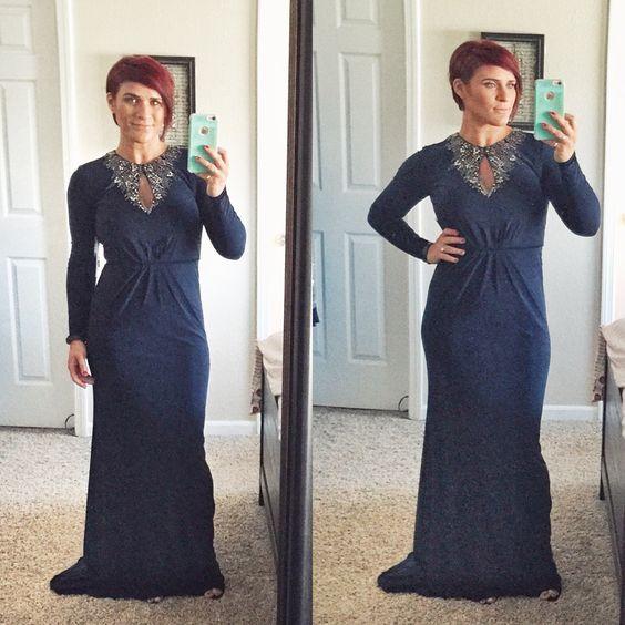 T j maxx prom dresses long sleeve