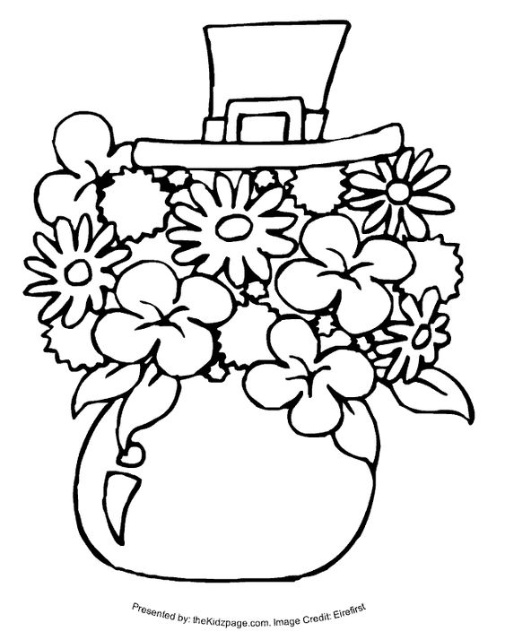 o byrnes st patricks day coloring pages - photo #11