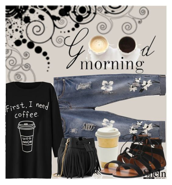 """""""Good Morning"""" by cranetattoo ❤ liked on Polyvore featuring Whistles, LULUS, contestentry, laceupsandals and PVStyleInsiderContest"""