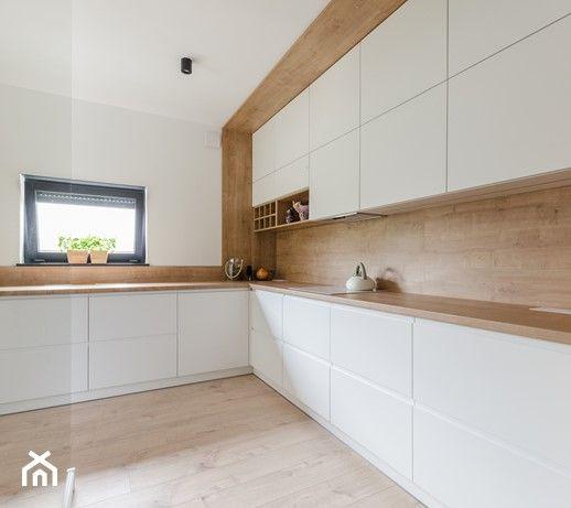 Aranzacje Wnetrz Kuchnia Projekt Domu W Okolicach Poznania Ok 120 M2 Srednia Zamknieta Kitchen Design Plans Minimal Kitchen Design Modern Kitchen Design